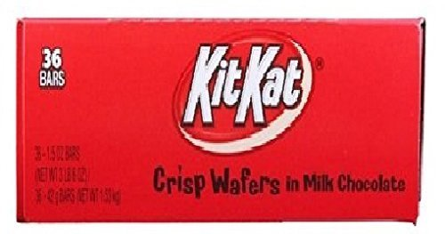 Price comparison product image Kit Kat Milk Chocolate Wafers Bar 36Ct by Kit Kat