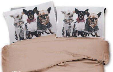 Lenzuola Matrimoniali Cani.Smartsupershop Completo Lenzuola Matrimoniale Due Piazze Cani