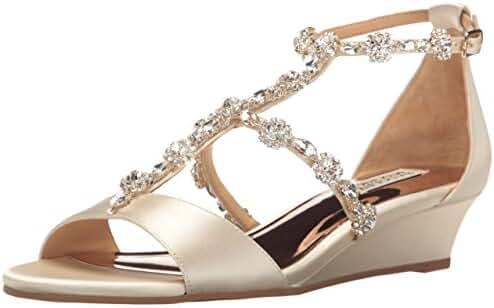 Badgley Mischka Women's Terry Wedge Sandal