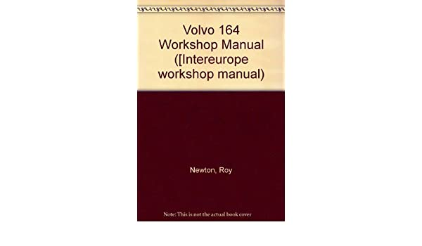 volvo 164 workshop manual