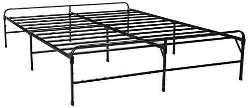 Zinus 14 Inch Bifold Platform Bed Frame/Folding Mattress Foundation/Strong Steel Support/Box Spring Replacement/Maximum Under-Bed Storage, Queen