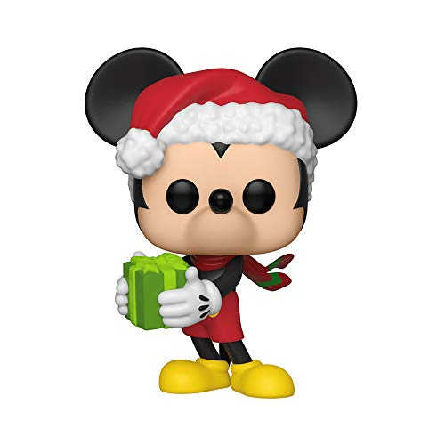 Pop! Disney Mickey 90th - Figura de Vinilo Holiday Mickey