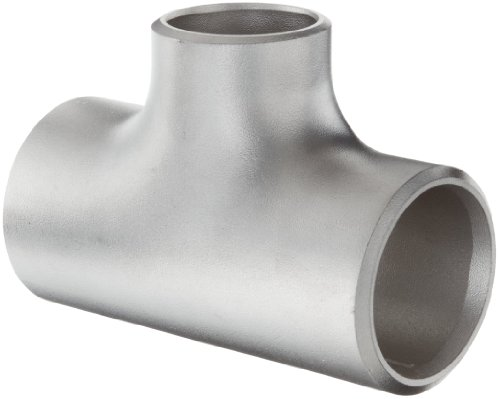 Stainless Steel 304/304L Pipe Fitting, Reducing Tee, Schedule 40, 1-1/2