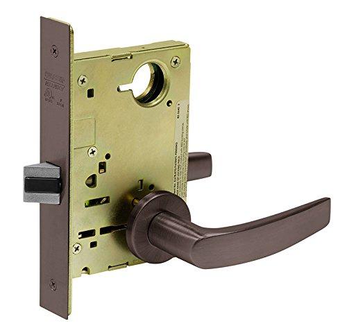 Locks Sargent Mortise (Sargent 8215 LNB 10B Mortise Lock, 9.25