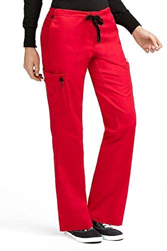 Red Scrub Pants - 4