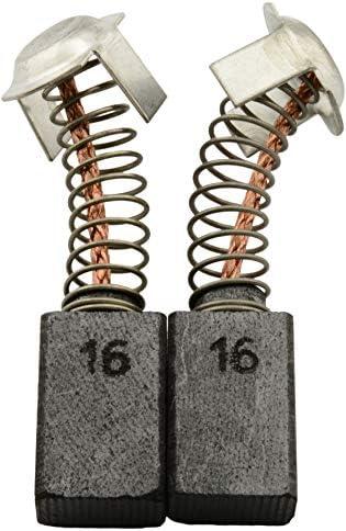 Balais de Charbon pour HITACHI DH 50SB marteau 7x13x17mm 2.8x5.1x6.7 Avec arr/êt automatique