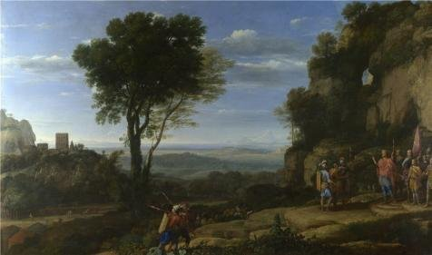 claude-landscape-with-david-at-the-cave-of-adullam1658-oil-painting-12x20-inch-30x52-cm-printed-on-h