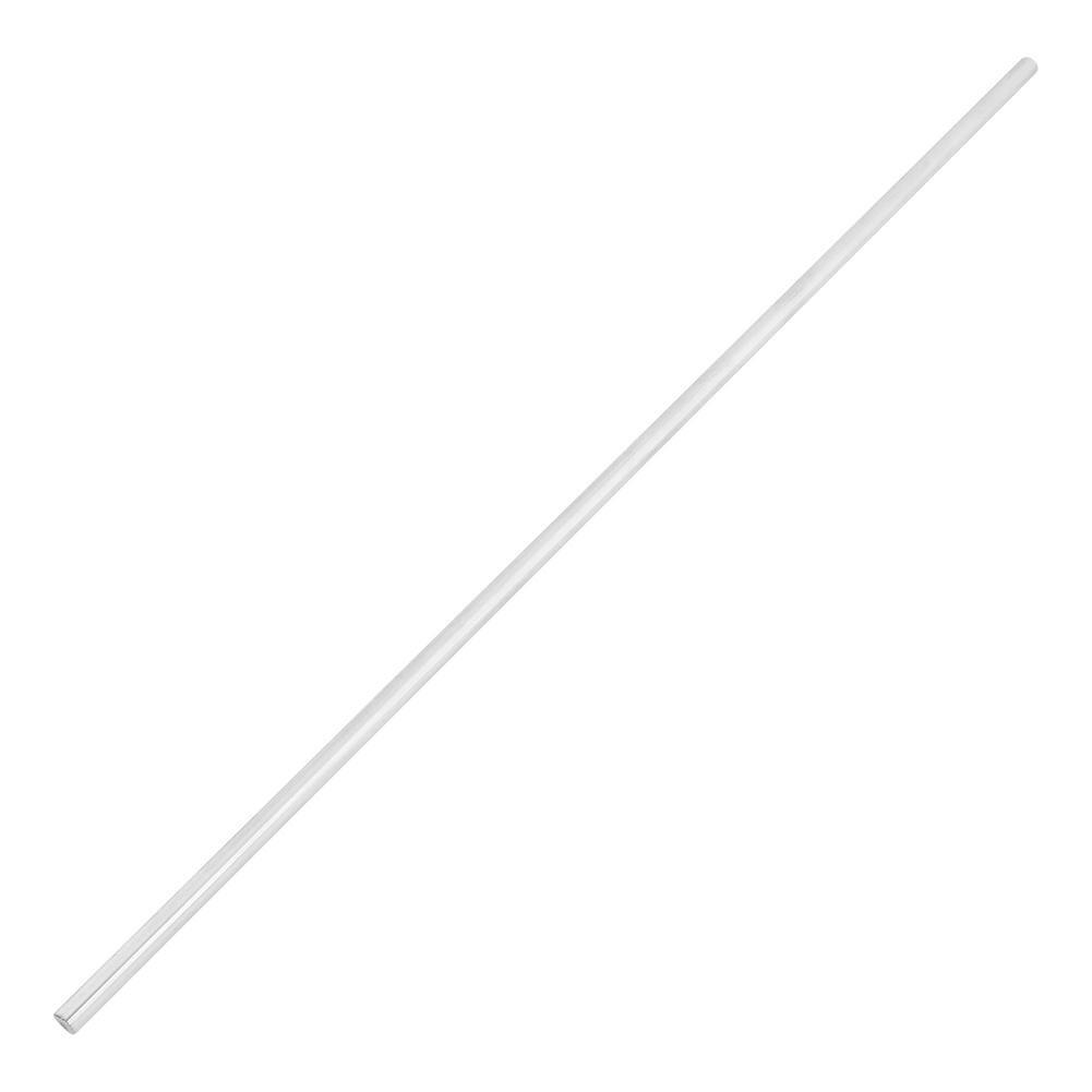 Varilla Lineal Acero Inoxidable Carril lineal Carril Cilindro Carril Eje Lineal Varilla Redonda Recta Diámetro de 8 mm Longitud de 500 mm