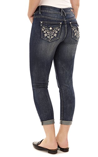 Angels Jeans Womens Curvy Convertible