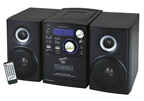 Supersonic SC807 CD/MP3/Cassette Player