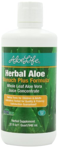 Aloe Life Herbal Stomach Nutritional Supplements, 32 Ounce Herbal Aloe Stomach