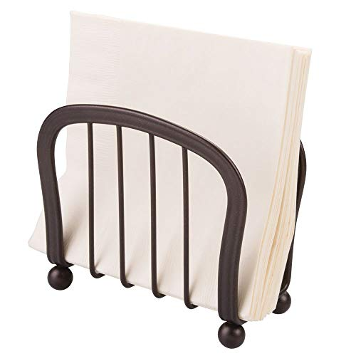 mDesign Modern Decorative Paper Napkin Holder for