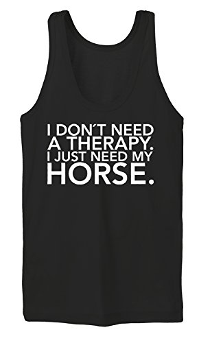 I Don`t Need A Therapy Tanktop Girls Black Certified Freak