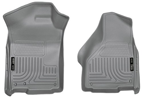 Husky Liners Front Floor Liners Fits 02-18 Ram 1500, 19 Ram Classic 1500, Quad/Standard Cab