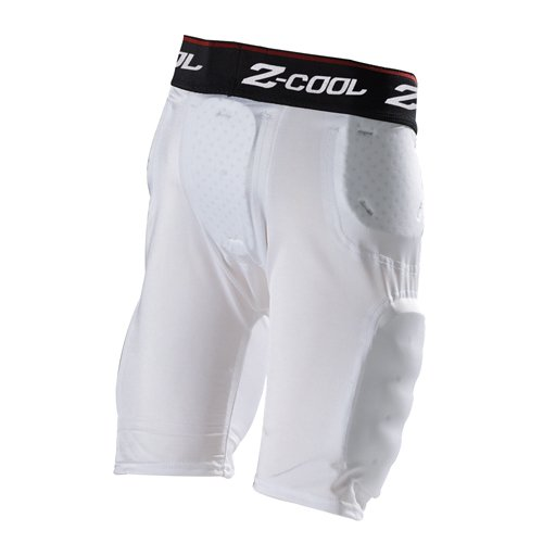 Gear Pro-Tec Z-Cool 5Pad/5Pkt Girdle Youth White Small ()