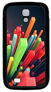 Samsung Note S4 CaseCubic Explosion TPU Custom Samsung Note 2 Case Cover Black