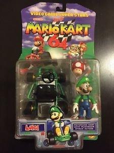 Toy Biz Nintendo Video Game Super Stars Mario Kart 64 Act...