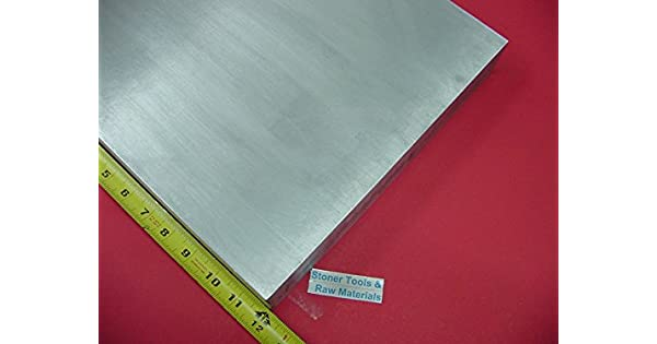 "1//2/"" X 12/"" ALUMINUM 6061 FLAT BAR 18/"" long Solid T6511 .50 Plate Mill Stock"