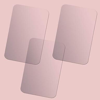 1Set adesivo specchio adesivi riflettenti superficie dello specchio creativo di arte della decorazione DIY 3D di cristallo specchio sticker da parete per Silver decorazione domestica