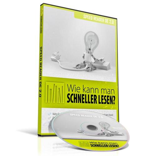 SPEED READER DE 2.0 - Wie kann man 10 x MEHR und SCHNELLER LESEN? Mehrere Benutzer (PC CD-ROM) (SPEED READER DE - Schneller lesen)