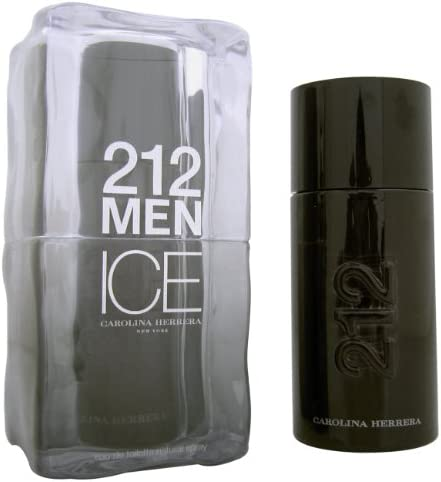 Carolina herrera 212 men on ice eau de toilette 100ml con vaporizador: Amazon.es: Belleza