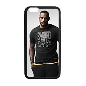 iPhone 6 Plus Case, [lebron james] iPhone 6 Plus (5.5) Case Custom Durable Case Cover for iPhone6 TPU case(Laser Technology)