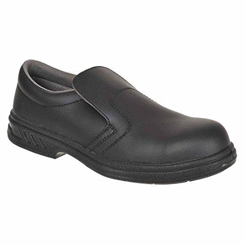 FW81 PORTWEST Safety R36 FW81BK On S2 Steelite™ Shoe Slip Black RRwHZ