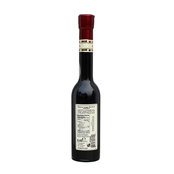 Flavored balsamic vinegar, 8. 5 ounces 2 save money with pack sizes elegant designer bottle produced by mussini in italy