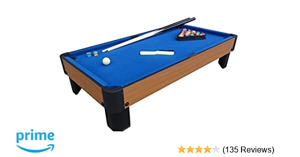 Amazon Com Playcraft Sport Bank Shot 40 Inch Pool Table With Blue
