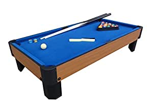 Playcraft Sport Bank Shot 40-Inch Pool Table with Blue Cloth