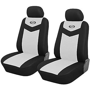 Amazon.com: Par de fundas para asientos delanteros de coche ...
