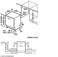 Neff S51N58X7EU lavavajilla - Lavavajillas (Totalmente integrado ...