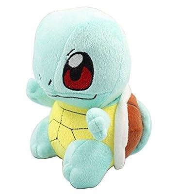 Pokémon Plush toys Pikachu Bulbasaur Squirtle Charmander Soft Plush (4 Pieces) by JAPONICA