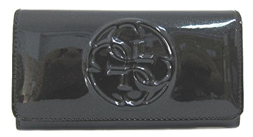 GUESS Womens Patent Clutch Wallet