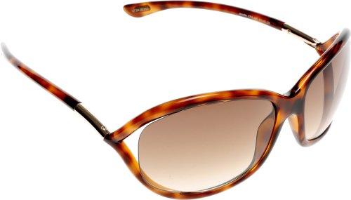Tom Ford Jennifer FT0008 Sunglasses-52F Tortoise (Brown Gradient ()