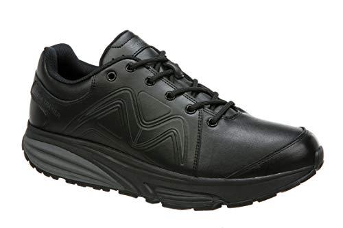 - MBT Shoes Men's Simba Trainer Athletic Shoe: Black/Black/Leather 11 Medium (D) Lace