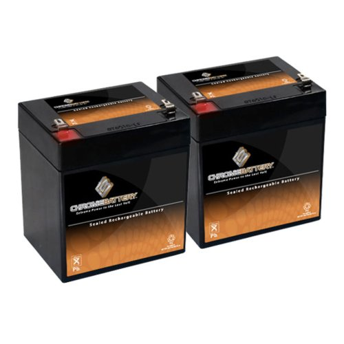 Chrome Battery 12V 4.6AH SLA Battery replaces nph5-12 hr1...