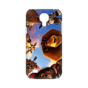 3D Printing Personalized Design of Animated Film-Madagascar by DreamWorks Background Fitted Hard Case Cover for SamSung Galaxy S4 mini i9192/i9198 - Cell Phone Accessories