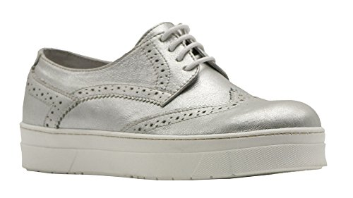 Wingtip 37 Silver Lace 8100 Leather Size Up Melrose qaUx6wR