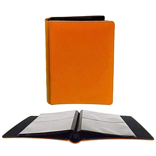 Leeman Designs Photo Album, Cowhide Leather Cover 20 Pages, Holds Eighty 4