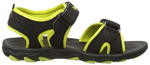 Hummel Sandal Sport Jr - Zapatilla baja Unisex niños Black (Black 2001)