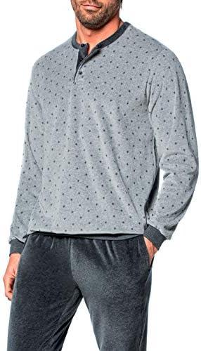 Guasch - Pijama largo gris XL: Amazon.es: Ropa