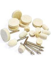 Rotary Tool Polishing Kit Felt Wool Polishing Pad Set är lämplig för olika formar och elektroniska produkter lätt att arbeta
