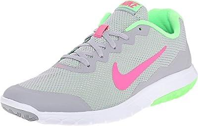 Nike Men's Flex Experience RN (Wolf Grey/Hyper Pink/Vltg Grn/White) Running Shoe, 6 B(M) US