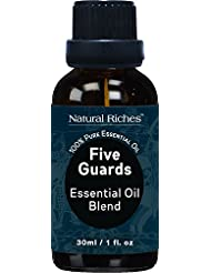 Five Guards Thieves Synergy Blend, Essential Oils – 30 ml 100% Pure Natural Therapeutic Grade Best Health Shield