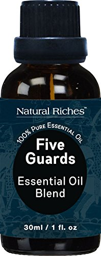 five-guards-synergy-essential-oils-blend-30ml-therapeutic-grade-thieves-essential-oil-by-natural-ric