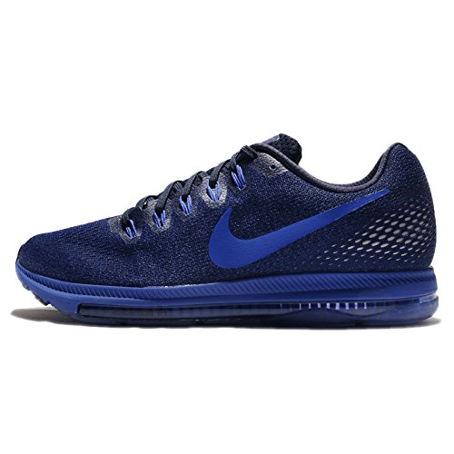 Nike Mens All Out Low Running Shoes Obisidian/Paramount Blue-black