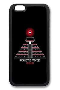 6 Case, iPhone 6 Case Mayan Pyramid Creativity TPU Silicone Gel Back Cover Skin Soft Bumper Case Cover for Apple iPhone 6