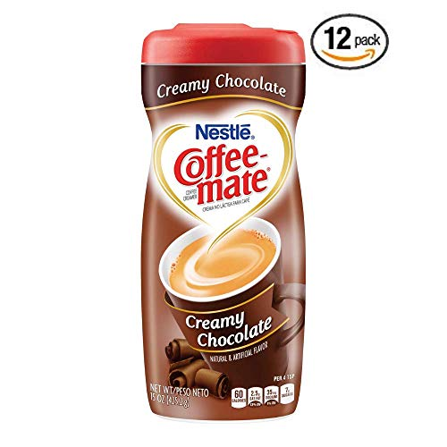 Nestle Coffee-Mate Coffee Creamer Creamy Chocolate, Pack of 12
