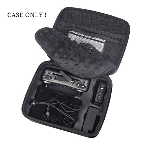 HScopter Drone Storage Case for Foldable Quadcopter Drone Carrying Case for Drone Model X103W/F22/Z5/KF607/HS107